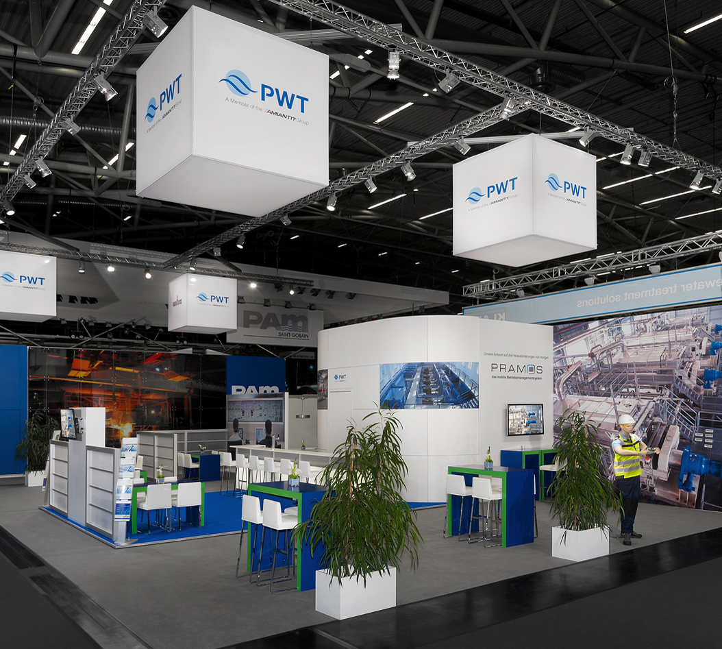 Messestand PWT